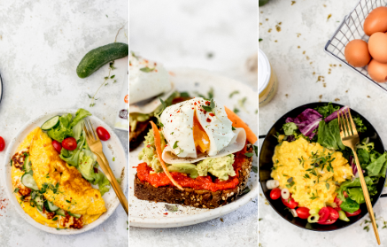 Recept - Vajíčka na raňajky trikrát inak